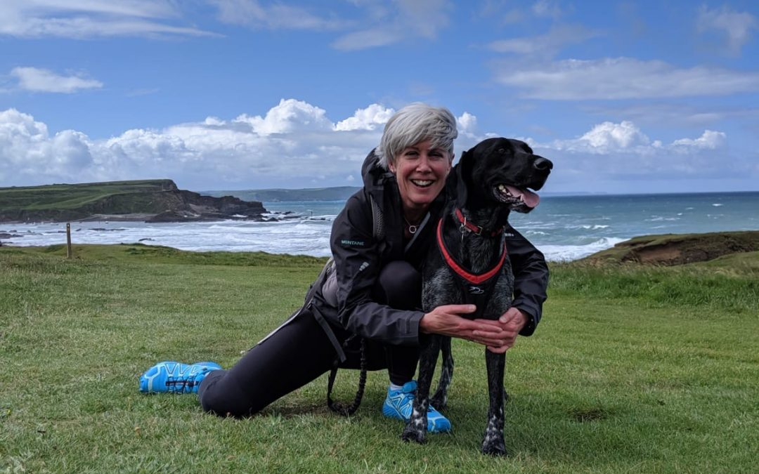 running with your dog bude cornwall
